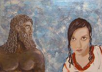 Athena and Zeus von Stefano Bonif