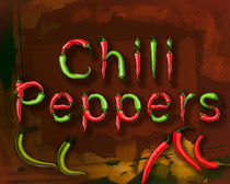 Chili Pepprs by Peter  Awax