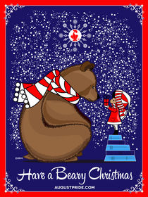 Beary Christmas von Stacey Renee Bowers