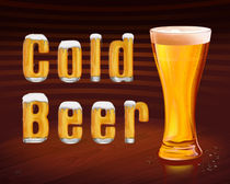 Cold Beer by Peter  Awax