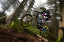 Downhill Action by Colin Derks
