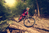 Downhill Summer Action by Colin Derks