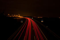 Car light trails von Kenny Jeurissen