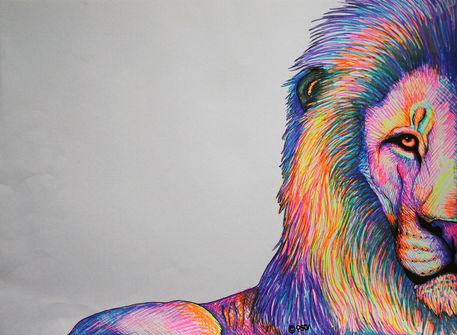Colorful-lion