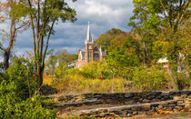 Church On A Hill by John Bailey