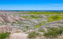 Amazing Landscape At Badlands von John Bailey