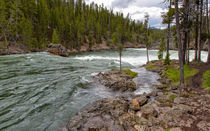 Scenic Yellowstone River von John Bailey