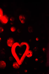 Red Heart by Gema Ibarra