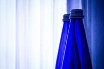 Blue water bottle von Gema Ibarra