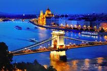 Panorama of Budapest von Tania Lerro
