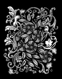 Flowers-and-leaves-blk-bkgd-rev