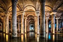 Sunken Palace or Basilica Cistern (Istanbul, Turkey) von Marc Garrido Clotet
