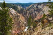 Yellowstone Has A Canyon von John Bailey