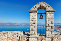 Nafplio from the castle Palamidi, Greece  by Constantinos Iliopoulos
