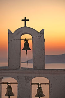 The sunset in Santorini island, Greece by Constantinos Iliopoulos