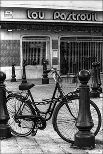Bicycle in Nice by Michael Whitaker