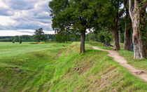 Yorktown Battlefield Earthworks by John Bailey