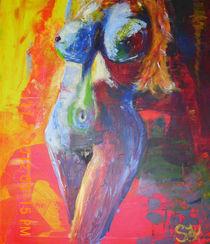Tagtraum  60x90 Acrylbild von Silvia Kafka