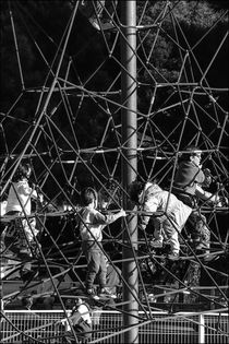 French Climbing Frame by Michael Whitaker