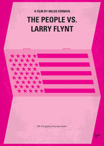 No395 My The People vs. Larry Flynt minimal movie poster von chungkong