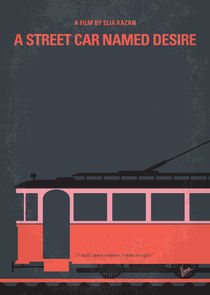 No397 My street car named desire minimal movie poster by chungkong