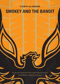 No398 My smokey and the bandits minimal movie poster von chungkong