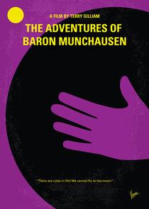 No399 My Baron von munchhausen minimal movie poster von chungkong