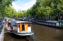 Amsterdam Canal by Lev Kaytsner