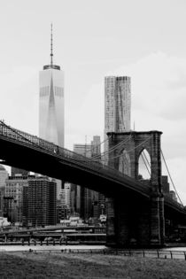 new york city ... brooklyn bridge II by meleah