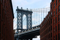 new york city ... manhattan bridge II von meleah