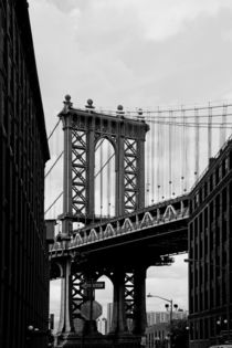 new york city ... manhattan bridge III von meleah