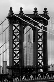 new york city ... manhattan bridge trilogy II  by meleah