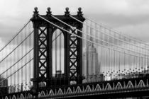 new york city ... manhattan bridge trilogy III von meleah