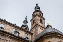 Dom zu Fulda-Teilansicht by Erhard Hess