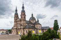 Dom zu Fulda- Nordostansicht von Erhard Hess