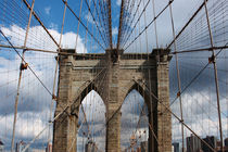 new york city ... brooklyn bridge III von meleah