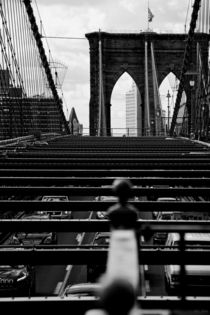 new york city ... brooklyn bridge IV von meleah