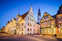 Buildings in Celle, Germany von Michael Abid