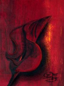 Rote Calla von Gabriel Bur