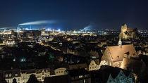 Blick auf Wismar vom St. Georgendom von Moritz Wicklein