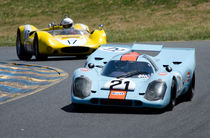 Gulf Porsche 917 races with Genie MK10B von James Menges