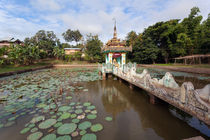 Local temple, Hsipaw, Shan State, Myanmar von kytefoto