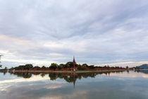 Mandalay Palace moat, Myanmar von kytefoto