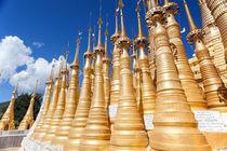 Indein Temple, Inle Lake, Myanmar by kytefoto