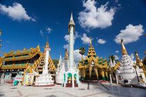 Shwedagon Pagoda, Yangon by kytefoto