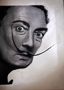 Salvador Dali painting by Anca Damian