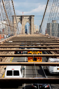 new york city ... brooklyn bridge V von meleah