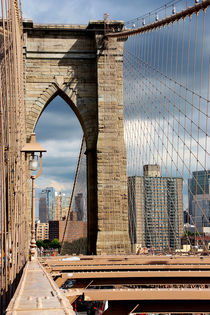new york city ... brooklyn bridge VI von meleah