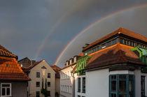 Doppelter Regenbogen von Erhard Hess