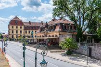 Pauluspromenade in  Fulda by Erhard Hess